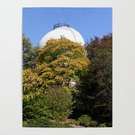The Old Royal Observatory Garden Poster