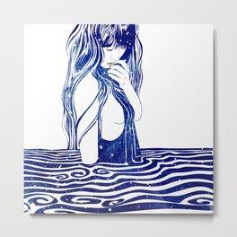 Water Nymph XVI Metal Print