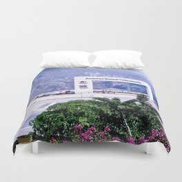 View of the national park of Chicamocha Duvet Cover