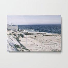 seaview I Metal Print