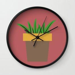 Little Succulent Wall Clock