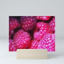 Summer with Raspberries Mini Art Print