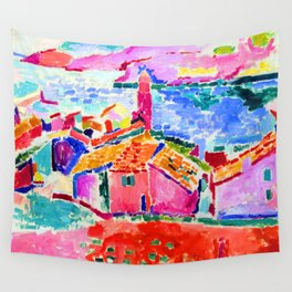 Henri Matisse Les toits de Collioure Wall Tapestry
