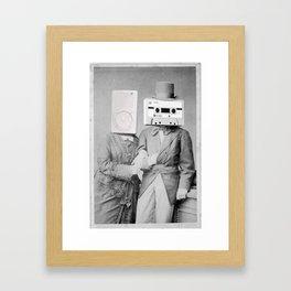 Trophy Wife Framed Art Print