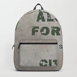 Citius Altius Fortius Backpack