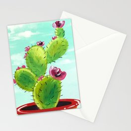 Potted Cactus Stationery Cards