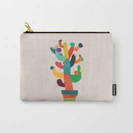 Whimsical Cactus Carry-All Pouch