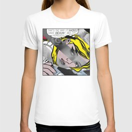 Roy Lichtenstein's Hopeless & Bette Davis T-shirt