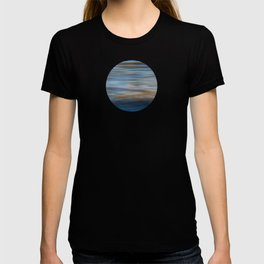 Ripples in water natural pattern T-shirt