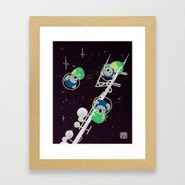Space Koalas Framed Art Print