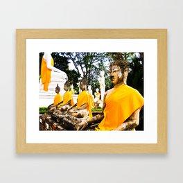 Buddhist Temple Framed Art Print