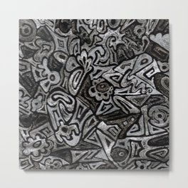 Uli Metal Print