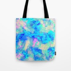 Electrify Ice Blue Tote Bag