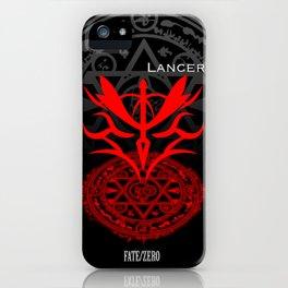 Fate/Zero Lancer iPhone Case