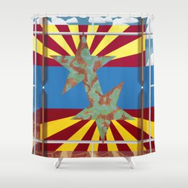 Altered State: AZ Shower Curtain