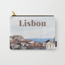 Lisbon Portugal Carry-All Pouch