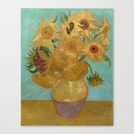 Van Gogh Sunflowers Canvas Print