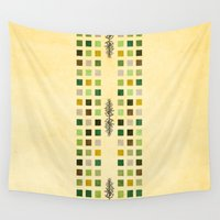 flora Wall Tapestries featuring Flora by Diogo Verissimo