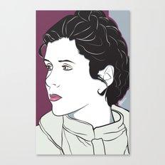 Icy Princess Canvas Print