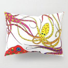 Consortium of Octopi Pillow Sham