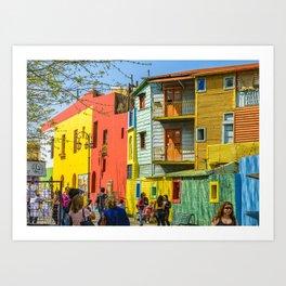 La Boca, Buenos Aires, Argentina Art Print