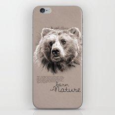 Bear (BornInNature) iPhone Skin