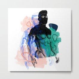 Albert Remix NOODDOOD Metal Print