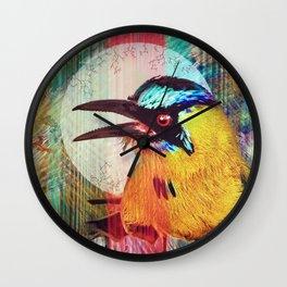 Motmot Rhythm Wall Clock