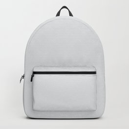 Pale Gray Solid Color Behr 2021 Color of the Year Accent Shade Dutch White MQ3-31 Backpack