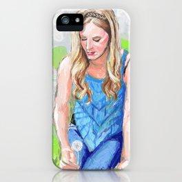 Dandelion Wishes iPhone Case