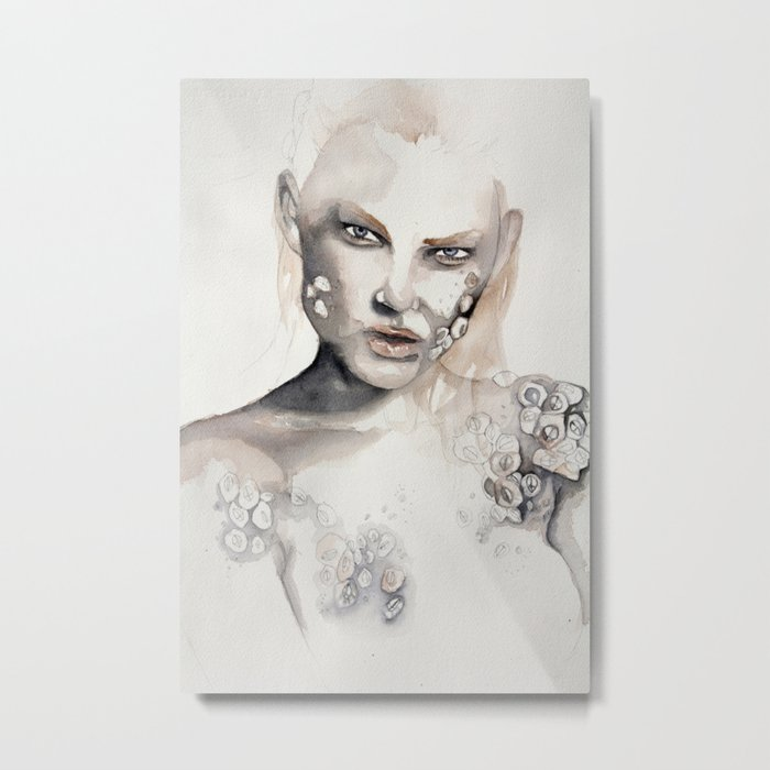 Barnacle girl Metal Print