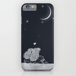 Winter Love iPhone Case