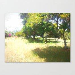 The Raanana Park 4 Canvas Print