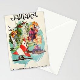 Vintage poster - Jamaica Stationery Cards