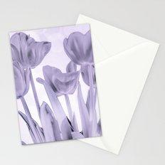 Tulips (b&w) Stationery Cards