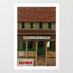General Store Art Print