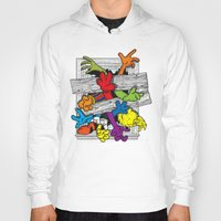 cartoons Hoodies featuring Cartoons Attack by luis pippi