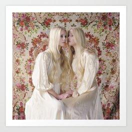 Twins (Reflections) Art Print