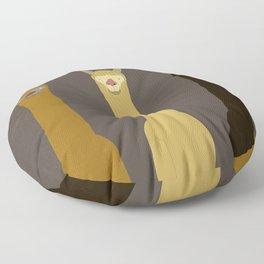 Triple LLAMAS ALPACAS CAMELS - Dark Floor Pillow