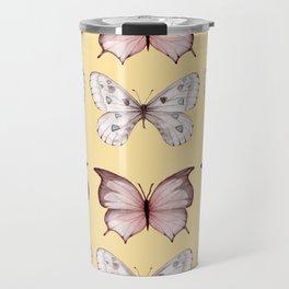 Butterfly IV vintage Travel Mug