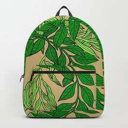 Green Vines2 Backpack