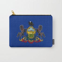 flag pennsylvania,america,us,pennsylvanian,keystone, quaker,appalach,philadelphia,pittsburgh,erie Carry-All Pouch