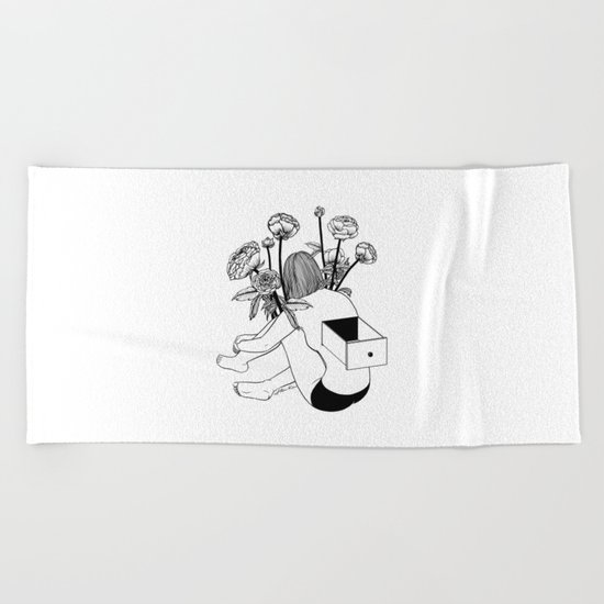 Beautiful Emptiness Beach Towel