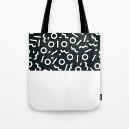 Memphis pattern 47 Tote Bag