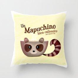 ¡Mapuchino! Throw Pillow