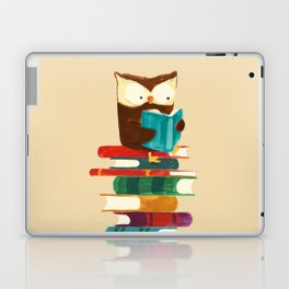 Owl Reading Rainbow Laptop & iPad Skin