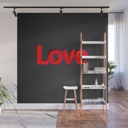 Just Love Wall Mural