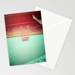Summer Swimming Stationery Cards