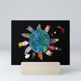 Love the Earth not only on Earth day ! Mini Art Print