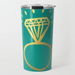 Diamond Ring Travel Mug